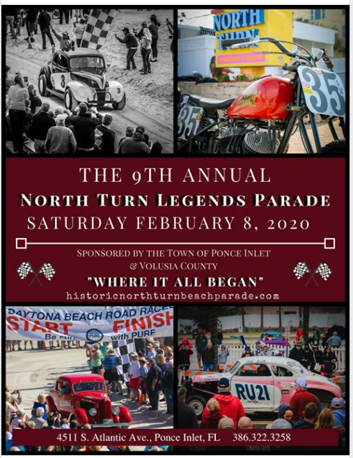 Historic North Turn Legends Beach Parade