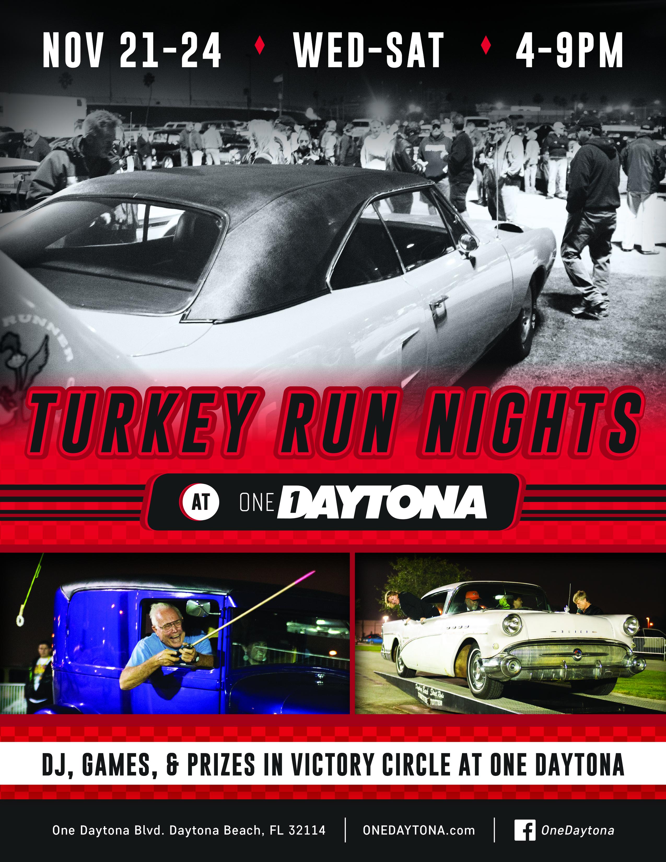 Daytona Turkey Run flyer