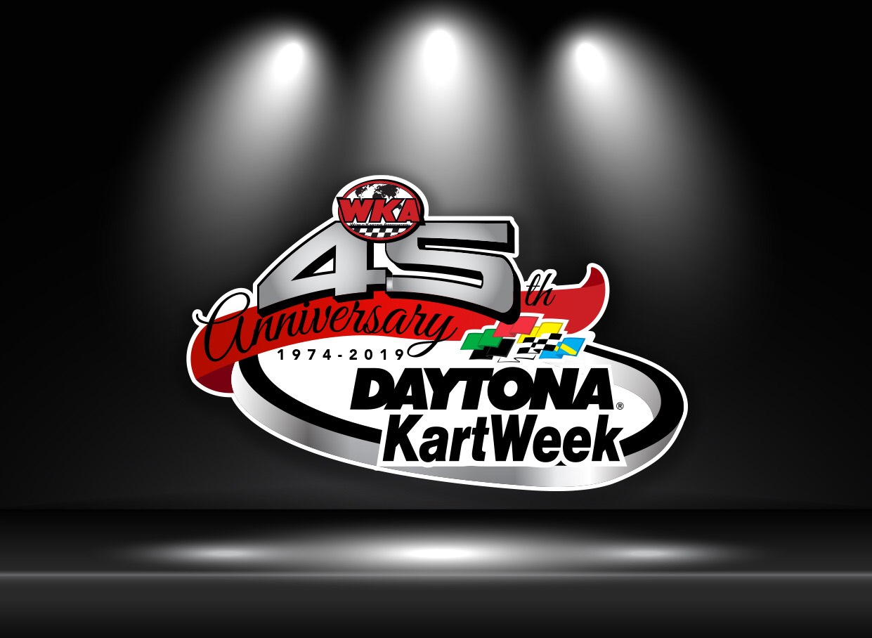 Kartweek 45th Year Anniversary Logo