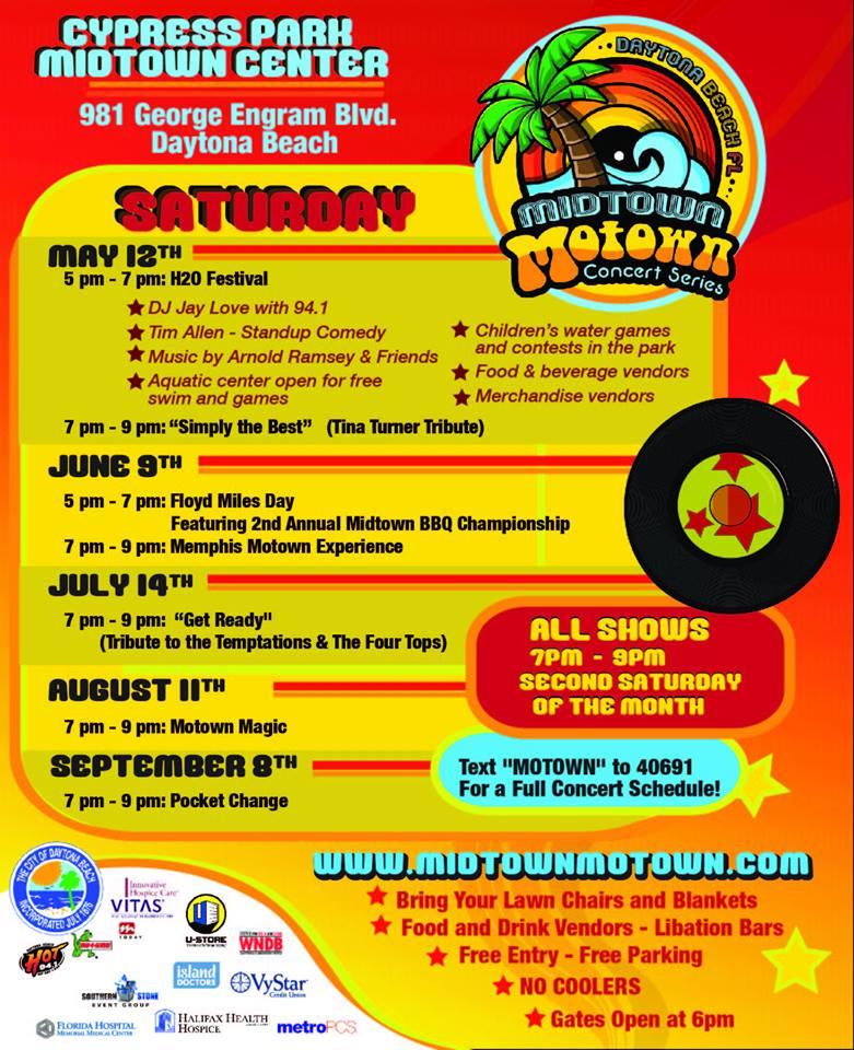 Midtown Motown 2018 Schedule