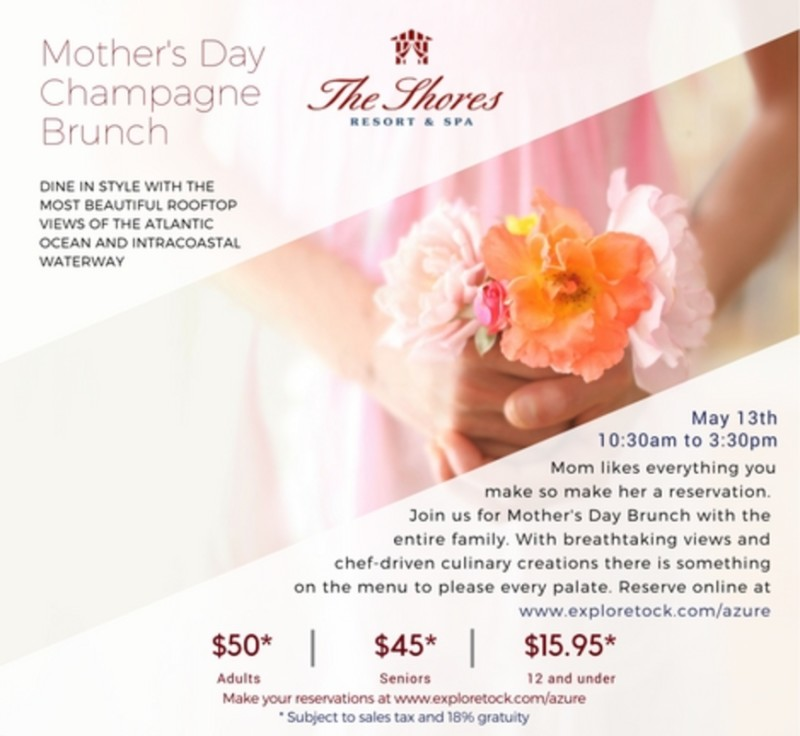 Mothers Day Rooftop Brunch