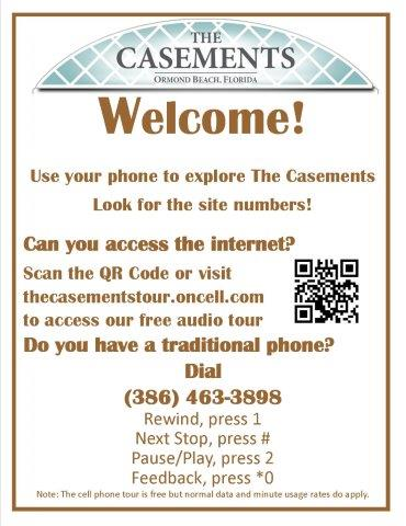 The Casements Self Guided Tour App