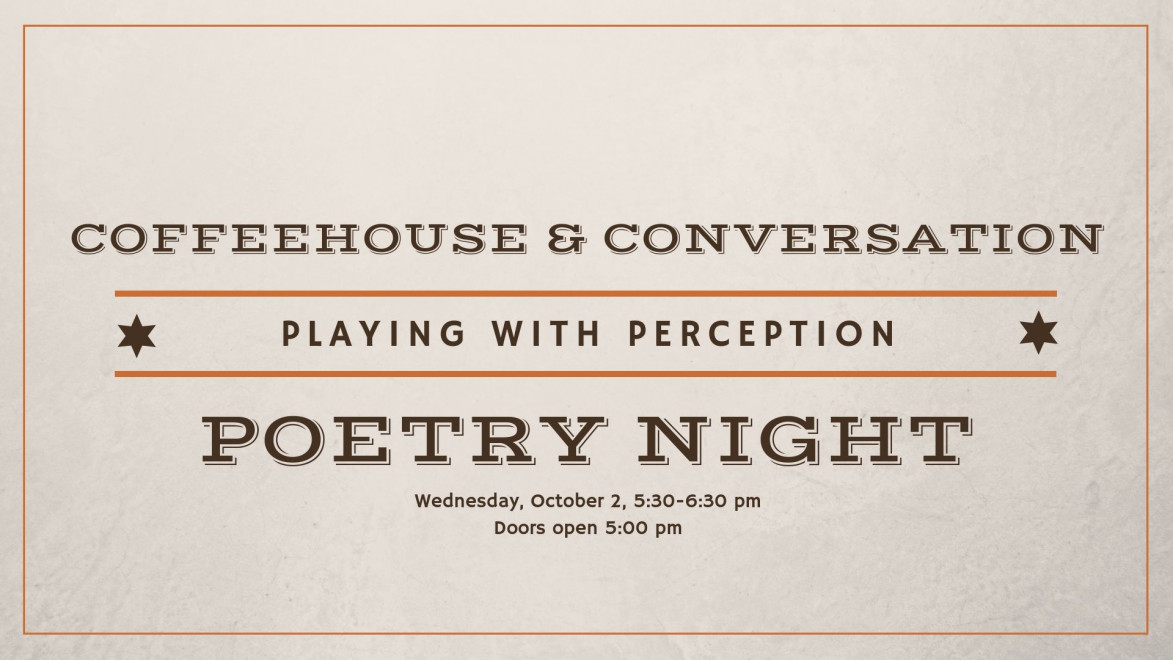 Playing with Perception Poetry Night